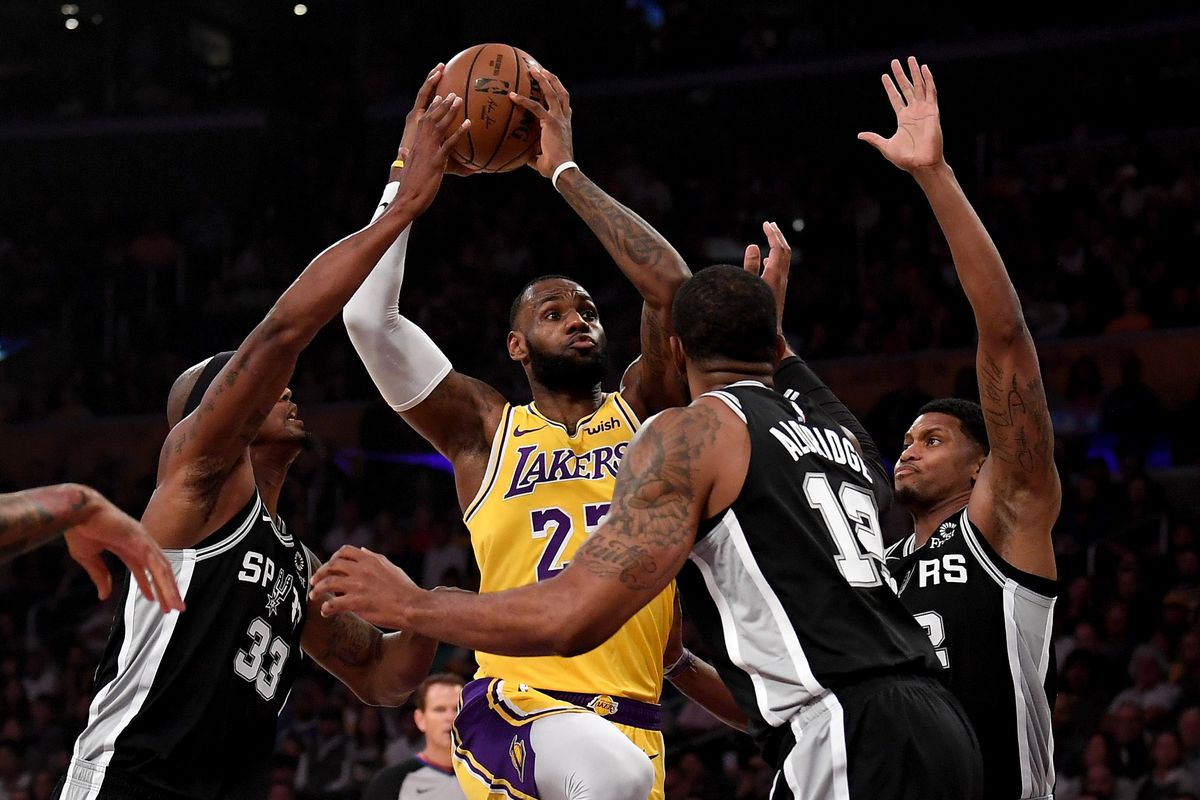 lakers vs. spurs: game preview, thread, starting time, tv schedule
