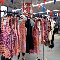 Hunter Dixon dresses and tops ranged from $55 to $150.