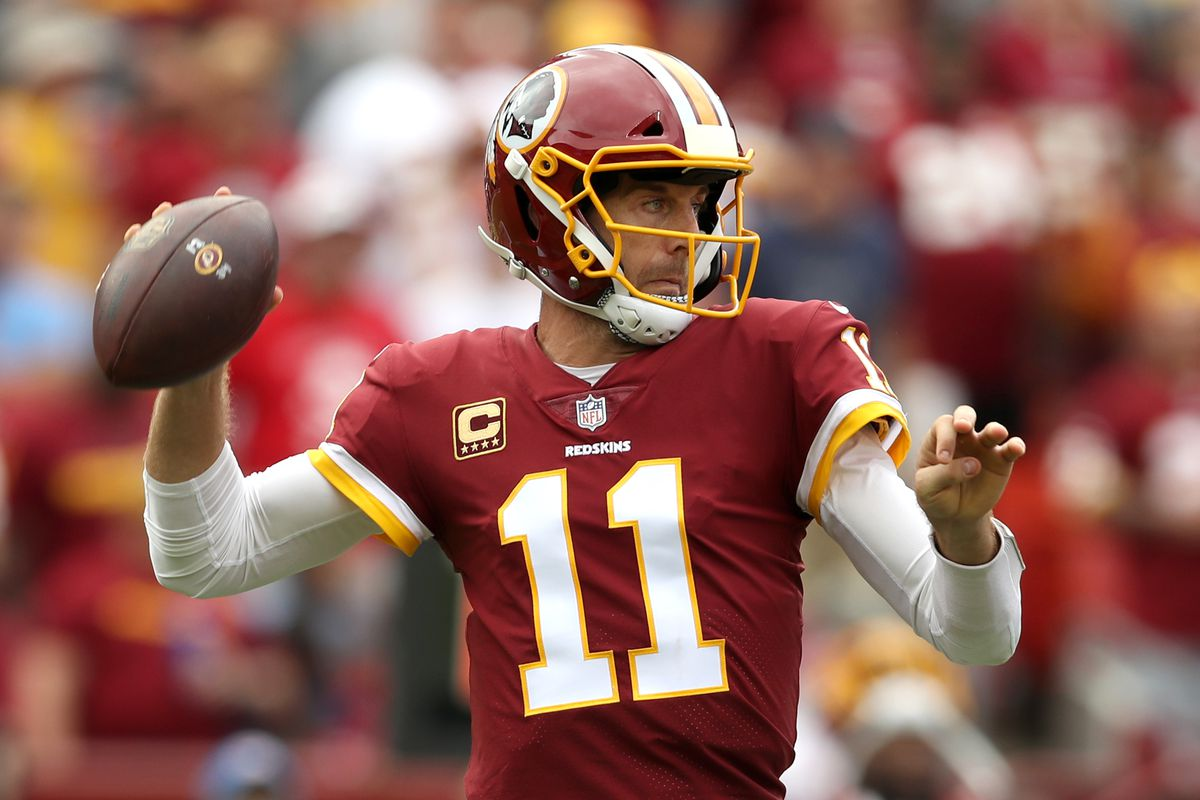 low priced a85a6 e8c8d Alex Smith Redskins Presser: Tale of the season is how you ...