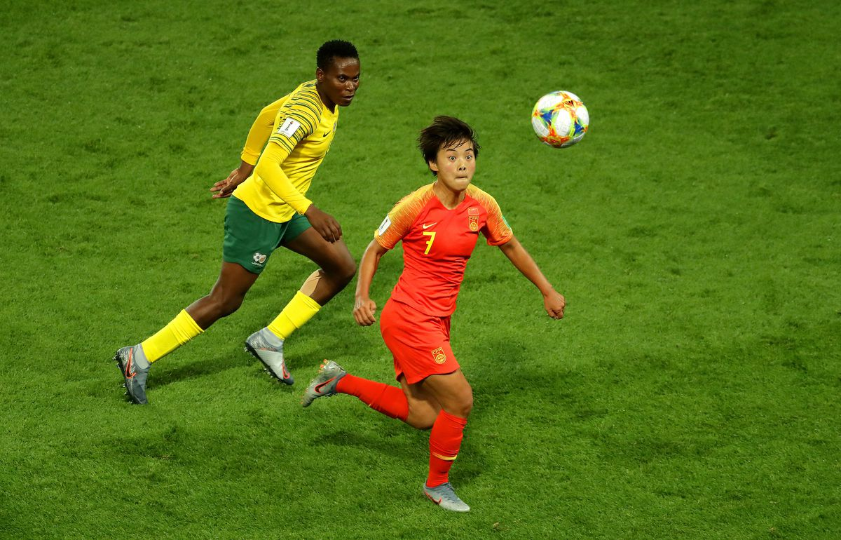 South Africa v China PR: Group B - 2019 FIFA Women's World Cup France