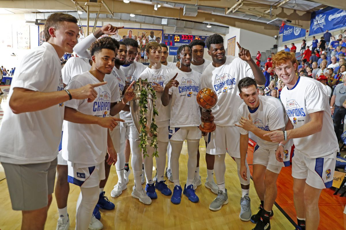 NCAA Basketball: Dayton at Kansas