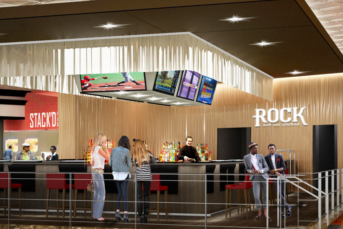 A rendering of Rock Bar & Lounge.