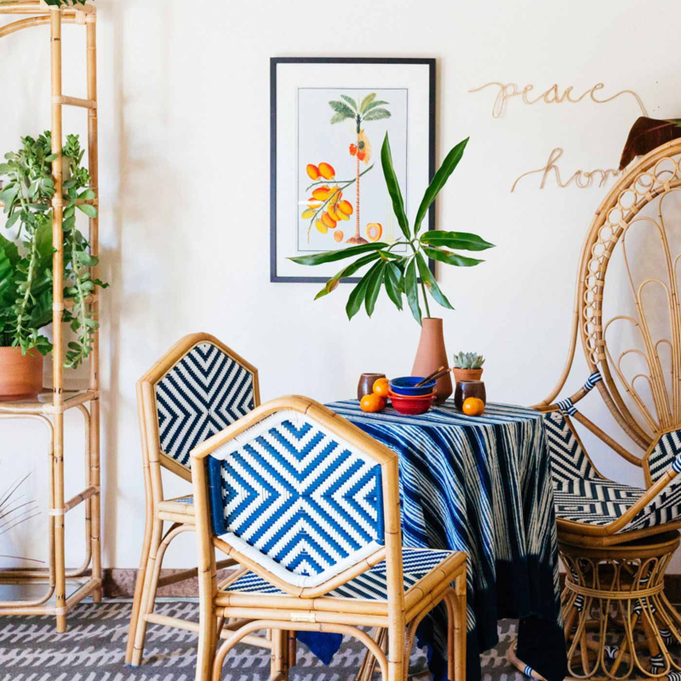 Rattan woven furniture: from Ikea to Anthropologie, chairs ...