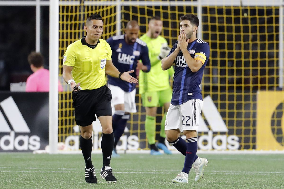 SOCCER: SEP 21 MLS - Real Salt Lake at New England Revolution