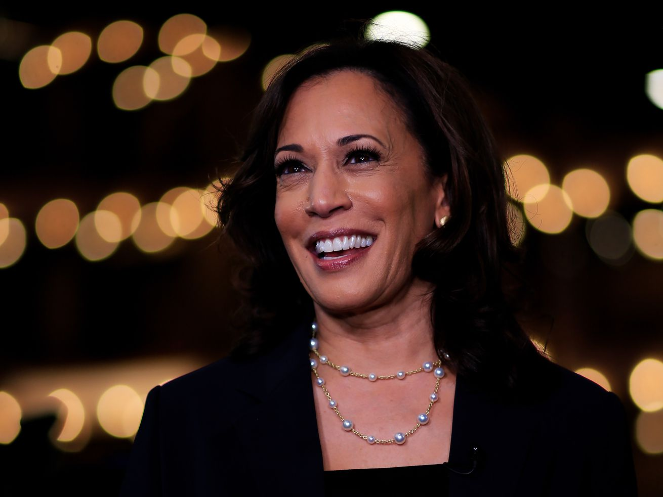 Sen. Kamala Harris at the first 2019 Democratic presidential debate.