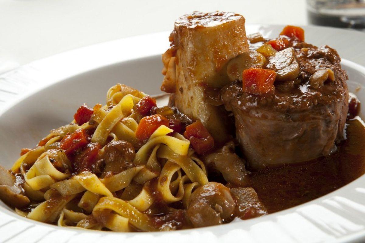Osso buco at Piero's Italian Cuisine