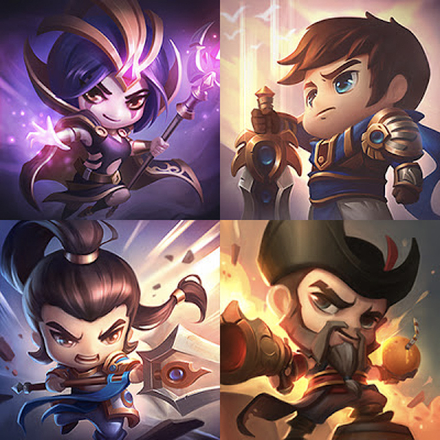 New cute summoner icons for Vayne, Nasus, and more added to PBE