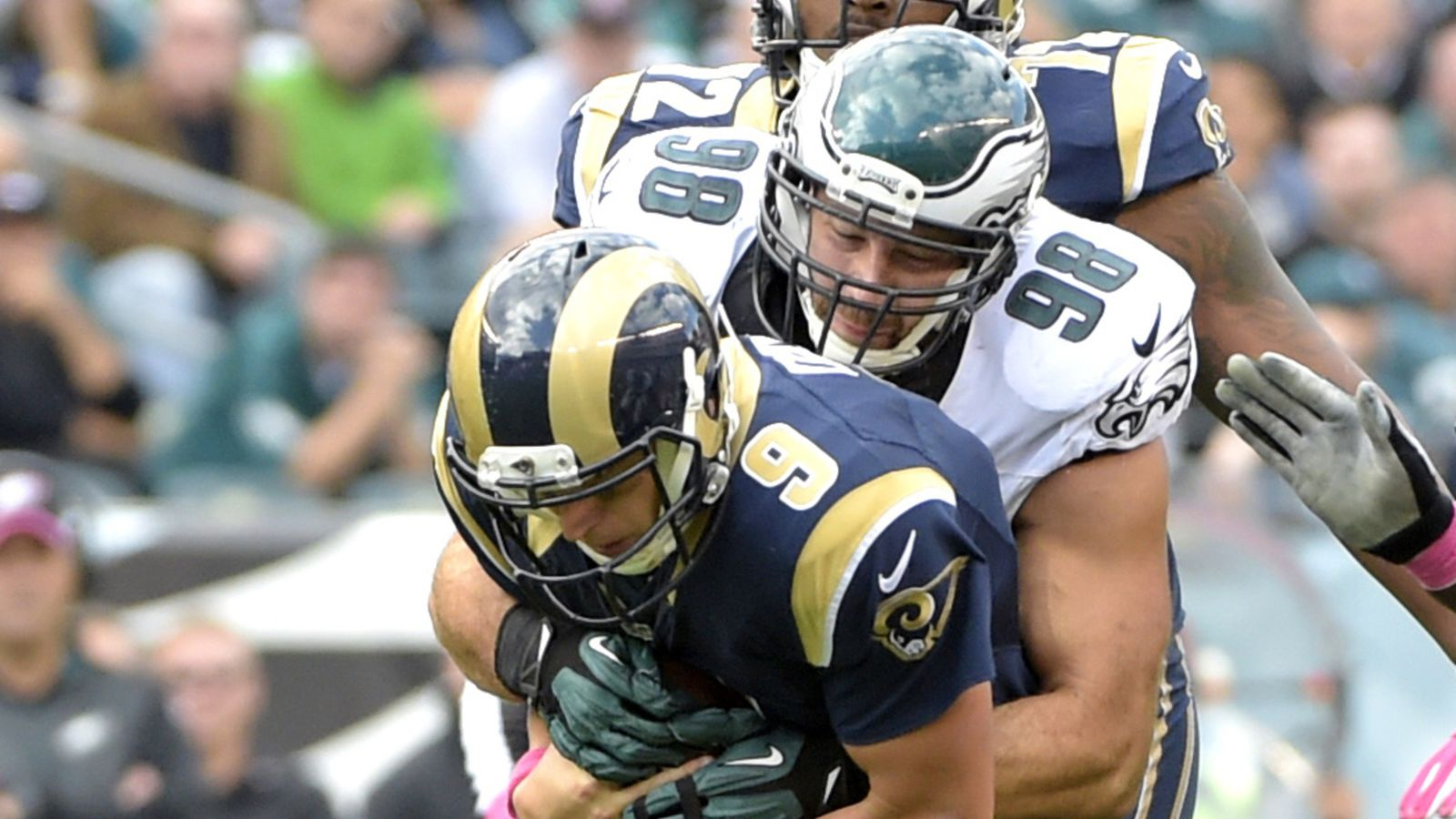 Grade The Philadelphia Eagles Victory Over St Louis Rams Bleeding Green Nation