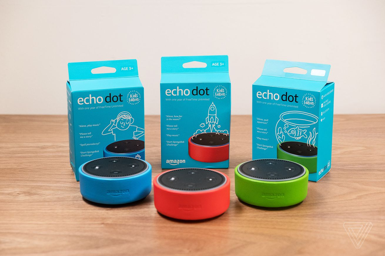 amazon s new echo dot kids edition comes with a colorful case and parental controls