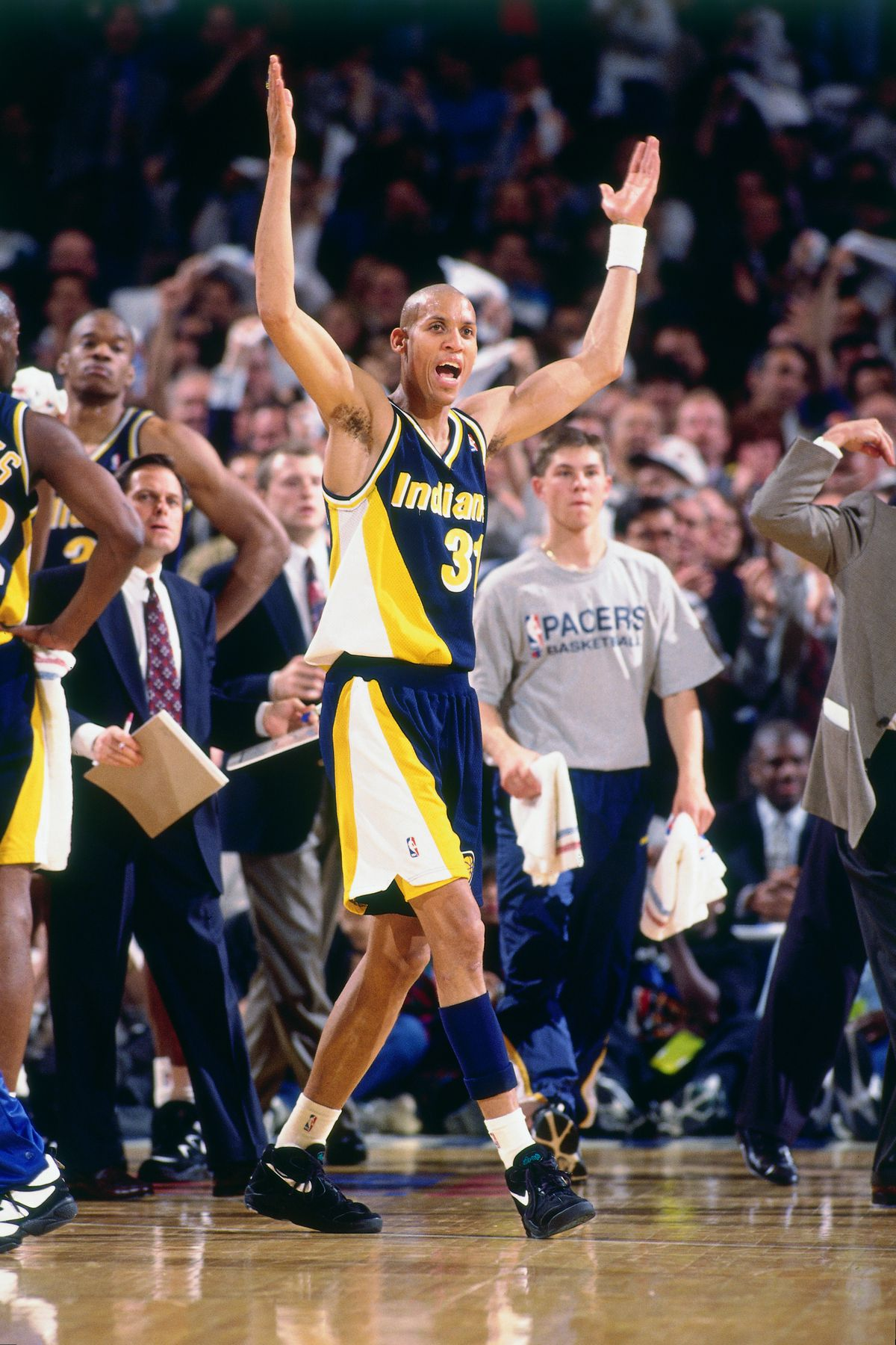 1995 NBA Playoffs: Round Two - Game Two: Indiana Pacers v New York Knicks