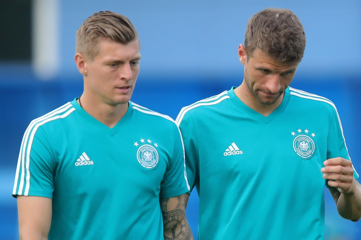 Kroos And Kimmich Question German Support As The Dfb Laments Low