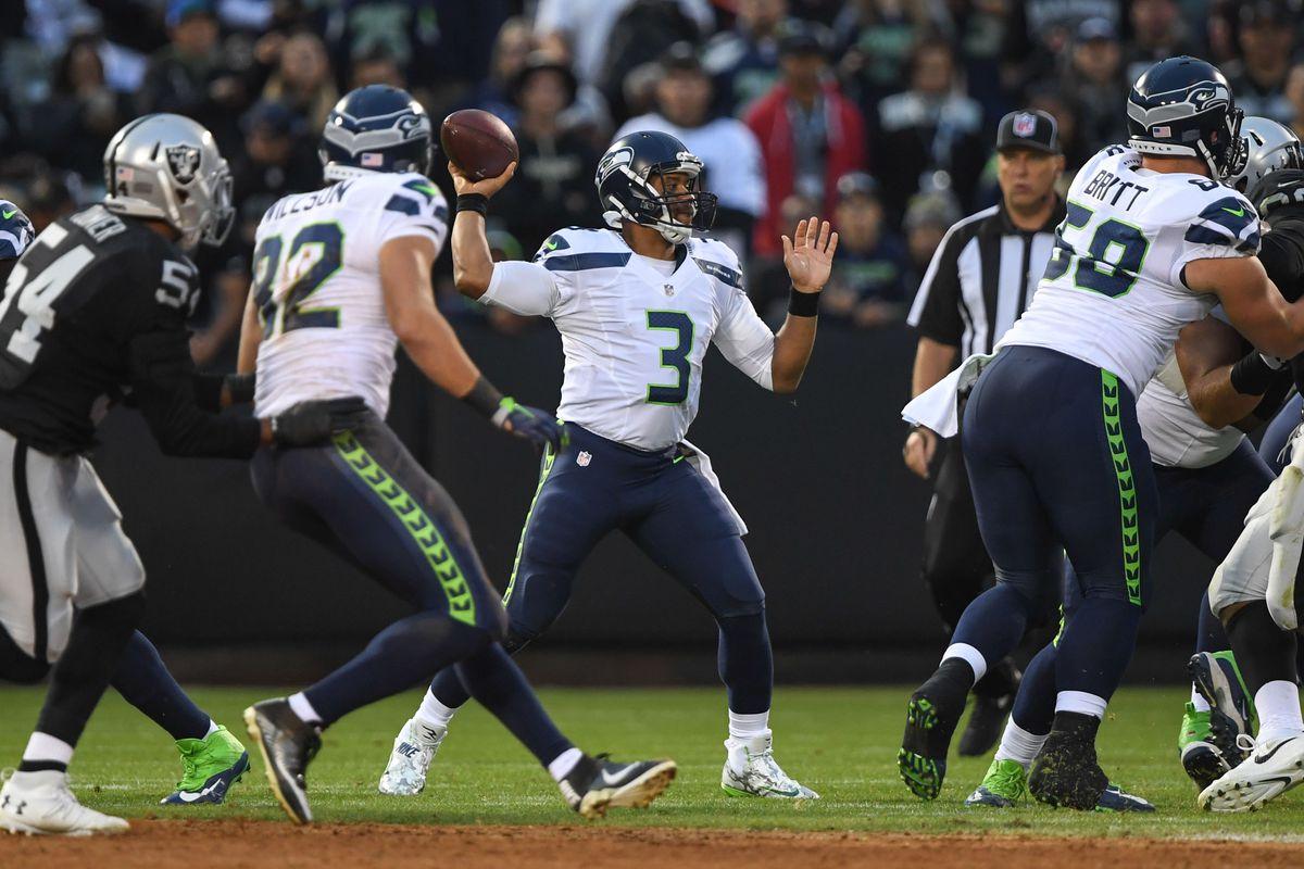 NFL: Preseason-Seattle Seahawks at Oakland Raiders