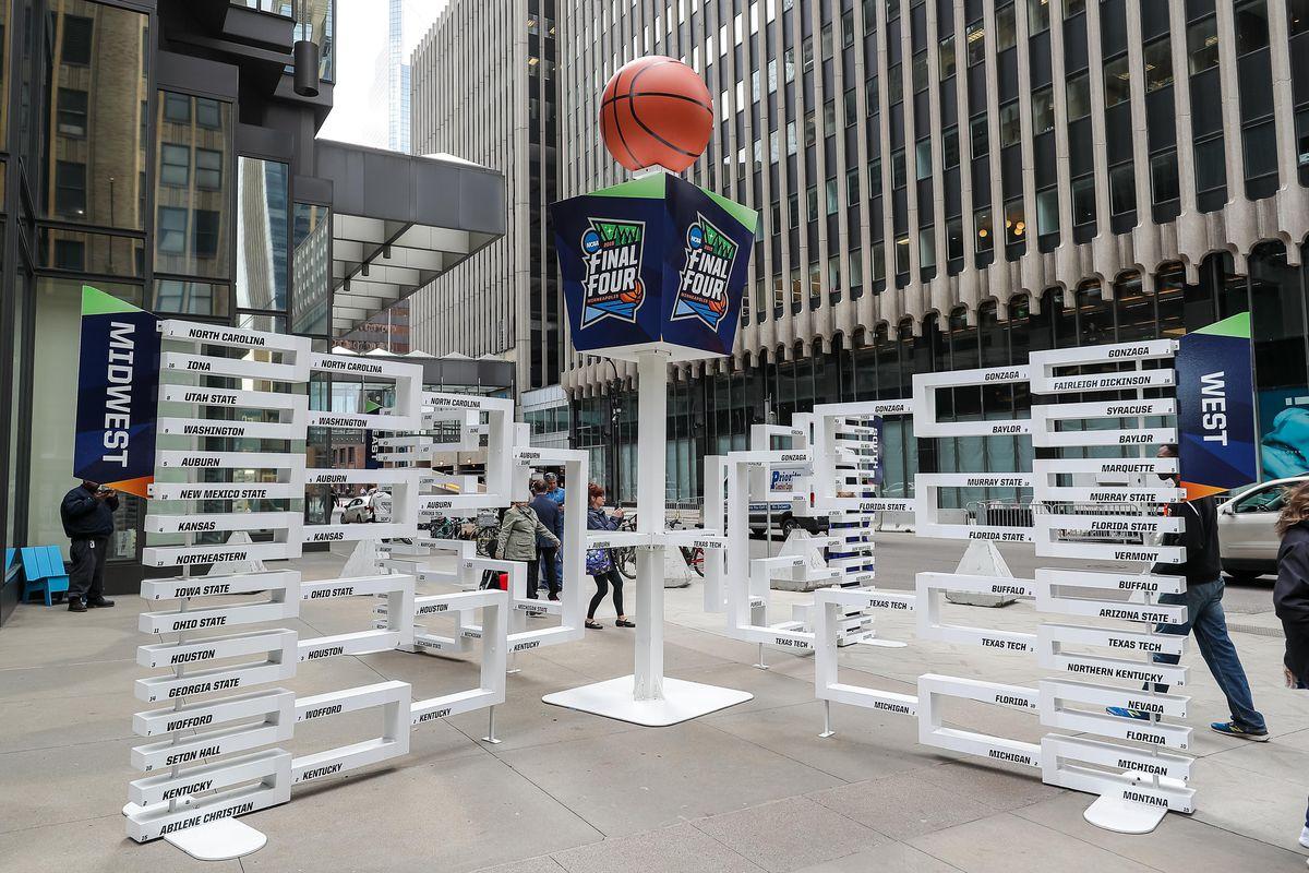 NCAA Basketball: Final Four-City Scenes