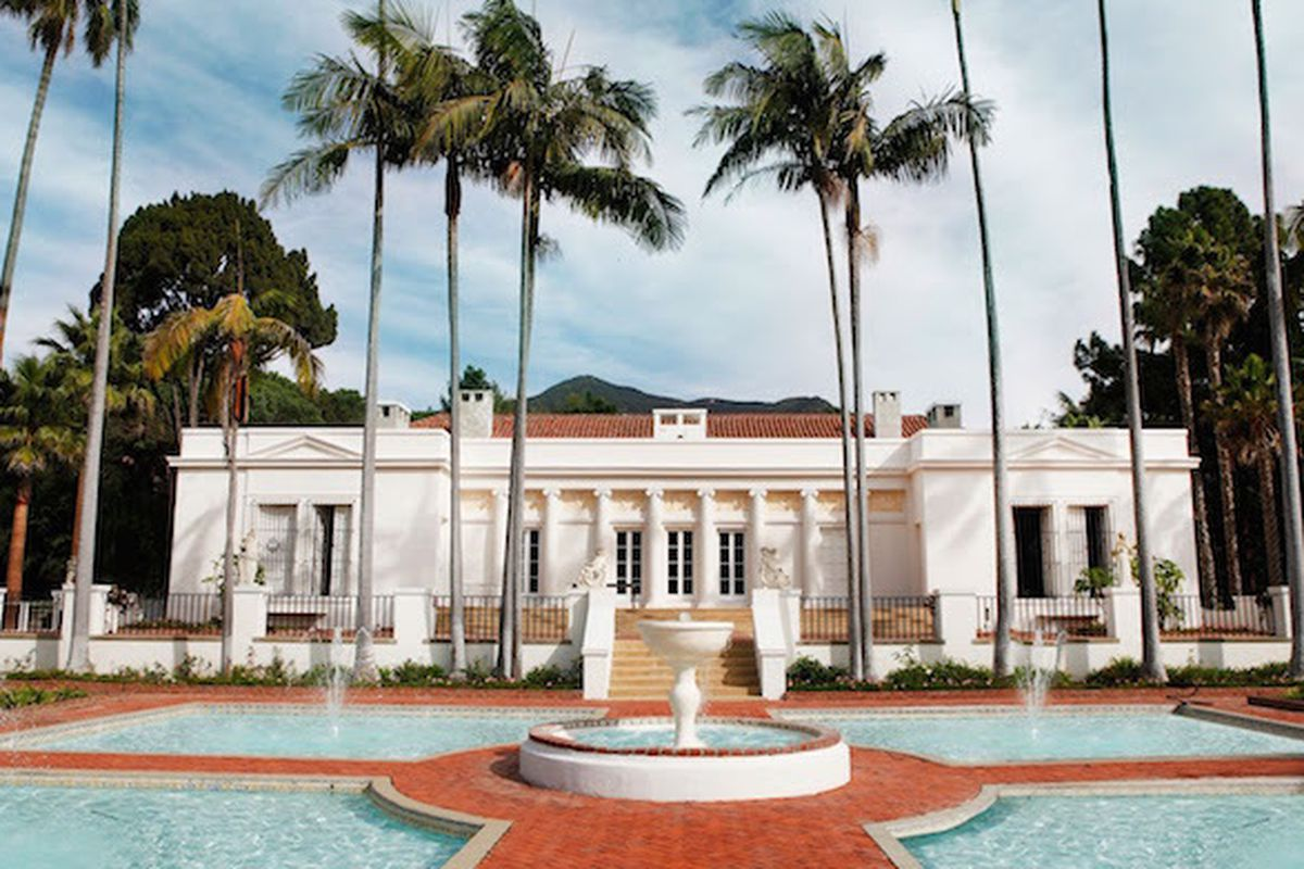 El Fureidis The Santa Barabara California Mansion That Played Role Of Tony Montana S Mive Estate In Scarface