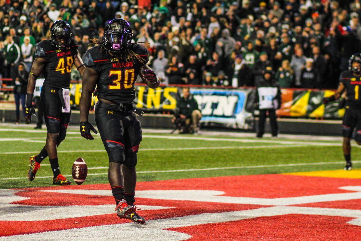 Scenes From Maryland's Win Over Michigan State
