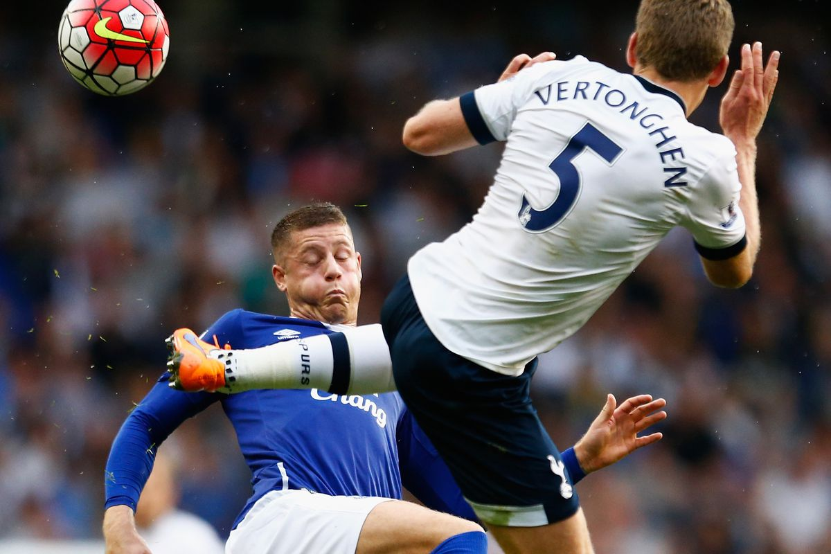 Who will have a leg up in the Everton v. Tottenham fixture?
