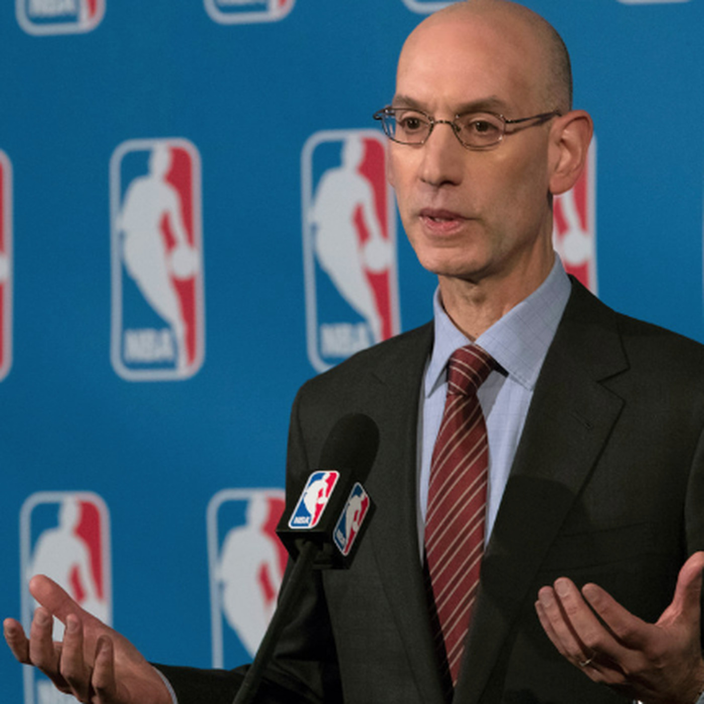 7df1c475b350 NBA commissioner Adam Silver wants Bulls to solve their own problems ...