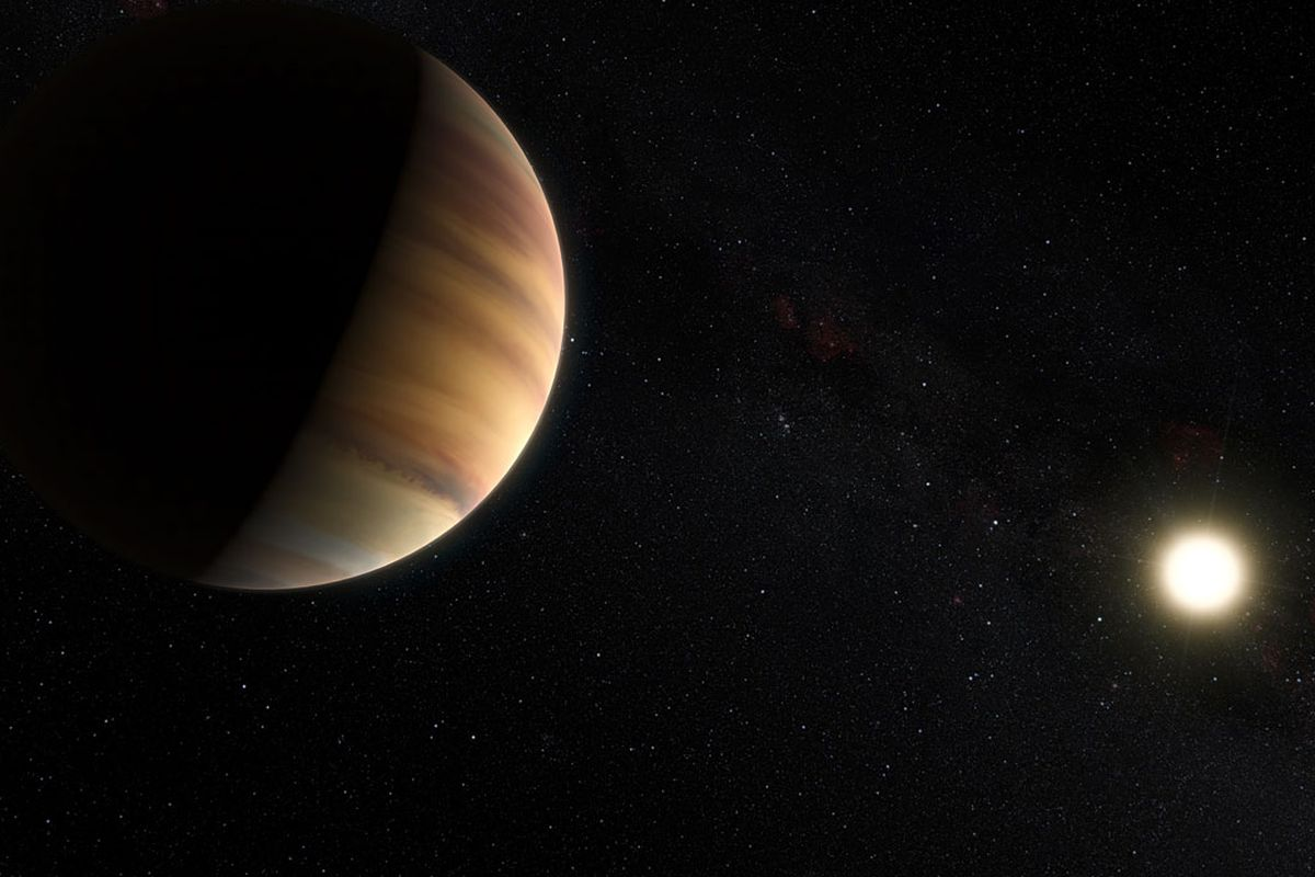 Astronomers detected light that's bouncing off the planet 51 Pegasi b and traveling to Earth.