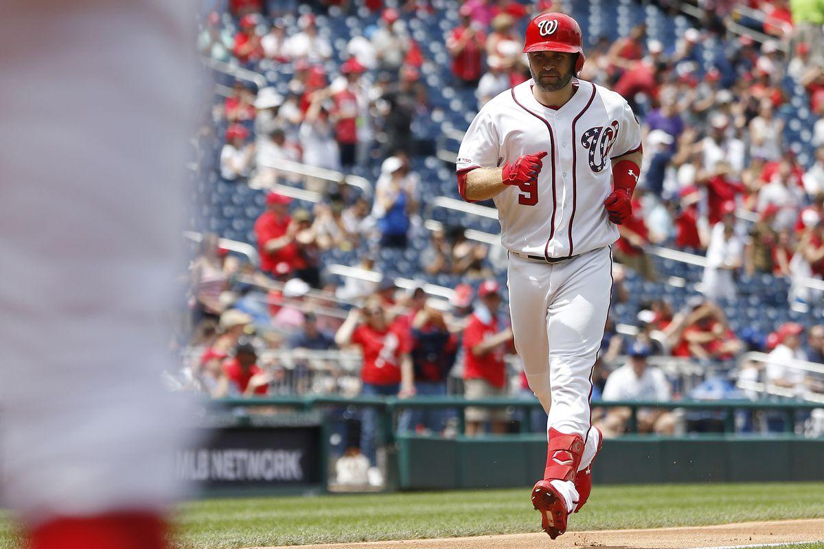 MLB: Kansas City Royals at Washington Nationals