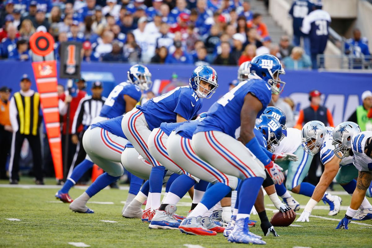 Can the Giants do a better job Sunday protecting Eli Manning?