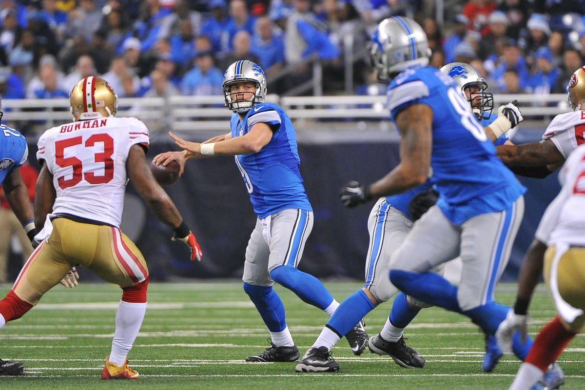 NFL: DEC 27 49ers at Lions
