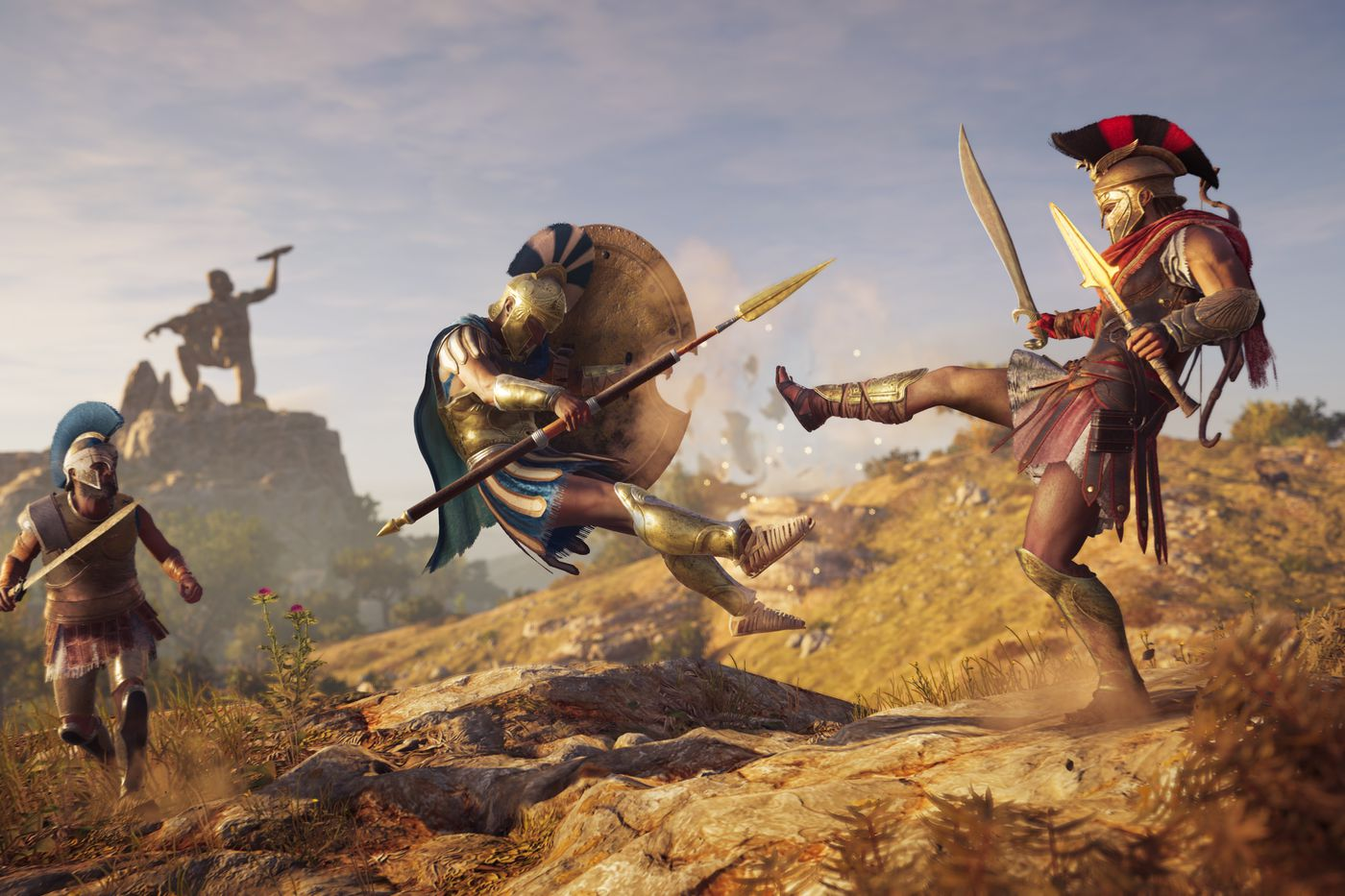 Assassin's Creed: Odyssey is even more of a traditional RPG