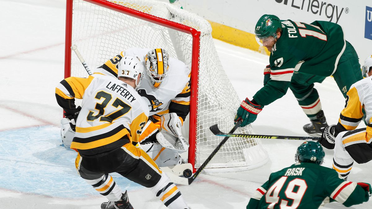 Pittsburgh Penguins v Minnesota Wild