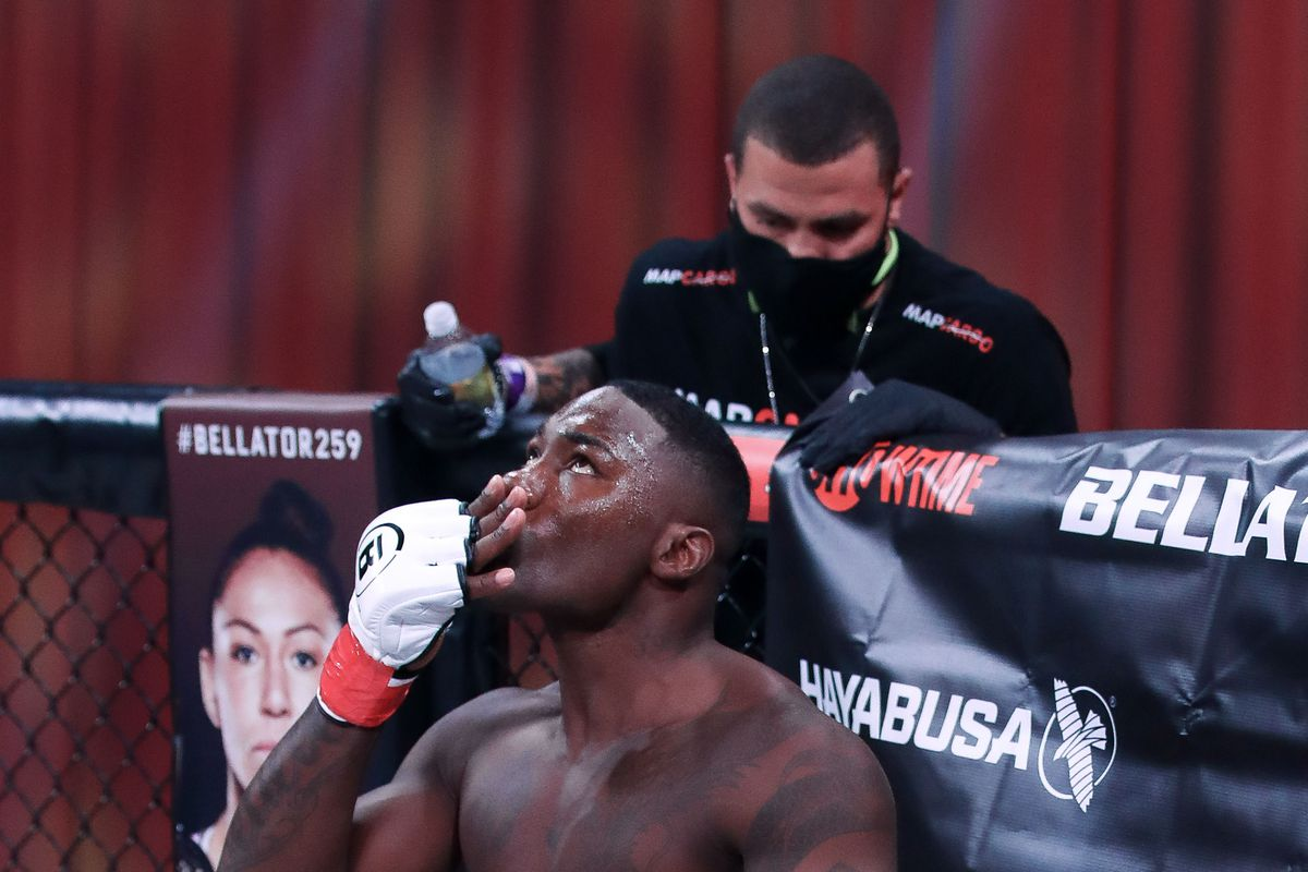Anthony Johnson won his Bellator debut and then was promptly arrested one day later.