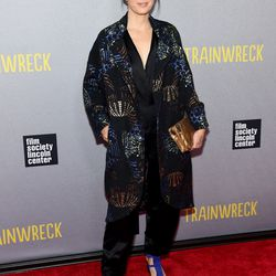 Marisa Tomei at the New York premiere of <i>Trainwreck</i>.