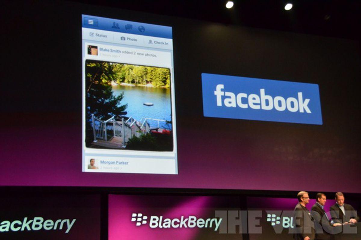 Gallery Photo: Facebook for BlackBerry 10 photos