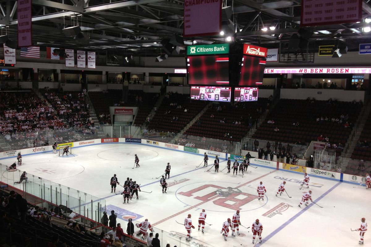 Bobo Carpenter will take to the Agganis Arena ice as early as 2015.