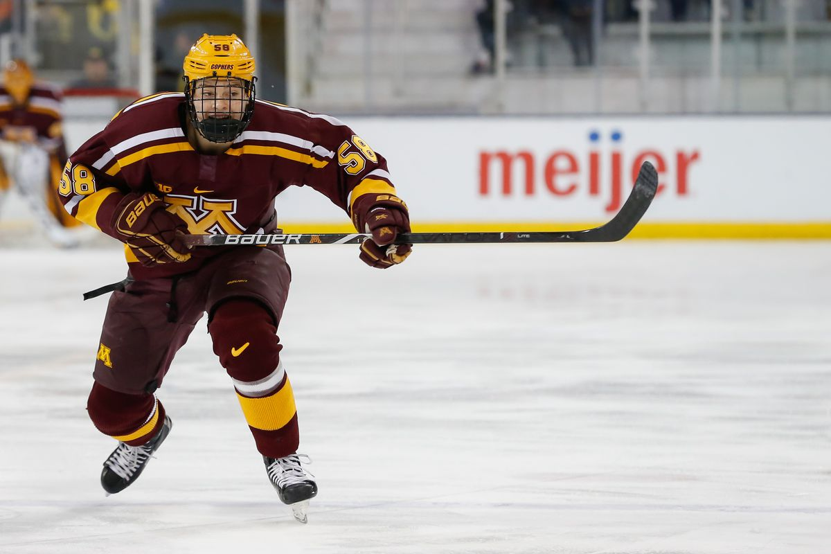 Minnesota Completes Sweep with 4-1 Win Over Ohio State