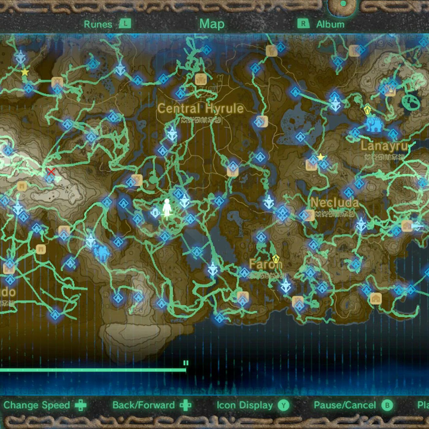 Zelda Breath Of The Wild Guide How To Use The Hero S Path Polygon