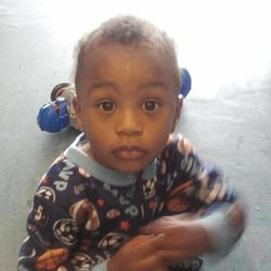 In this Nov. 25, 2011 photo provided by the Columbia S.C., Police Dept., 18-month-old Amir Jennings is shown near Columbia, S.C. Amir disappeared on December 2011 while in custody of his mother. Amir's mother, Zinah Jennings, has been on trial on a charge related to his dissapearance.