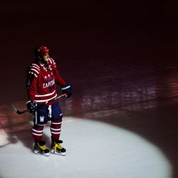Ovechkin In A Passing Spotlight