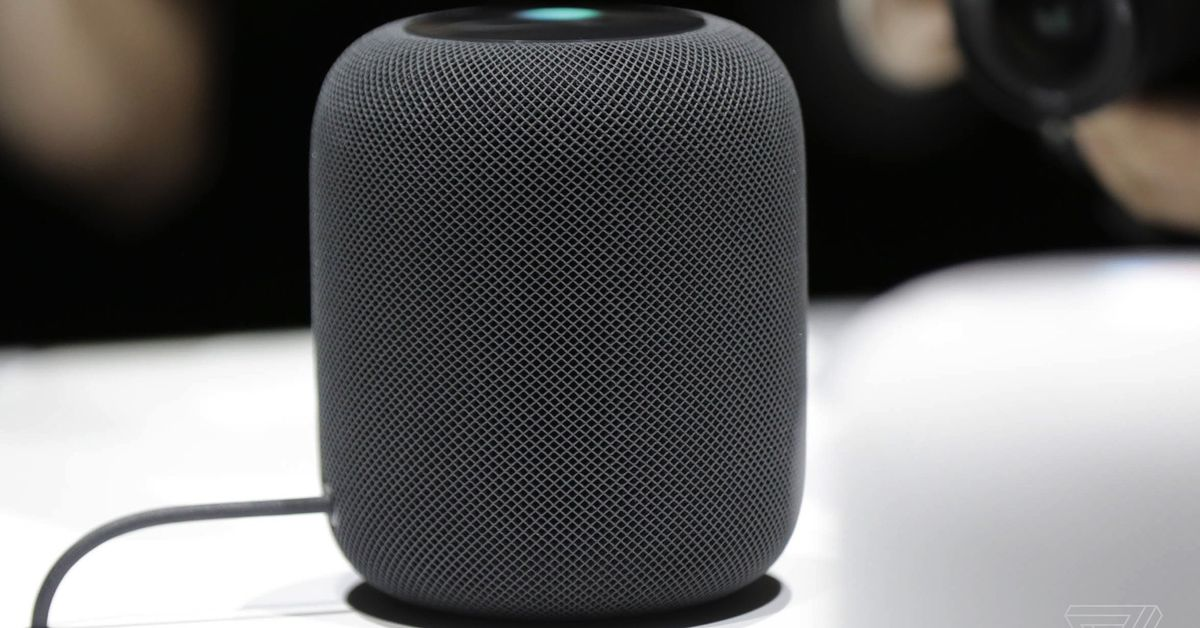 photo image Apple will release the HomePod on February 9th, pre-orders start Friday