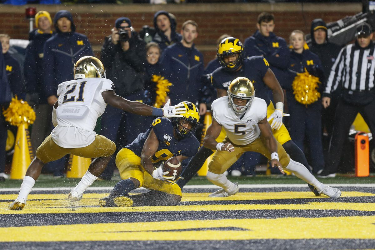 COLLEGE FOOTBALL: OCT 26 Notre Dame at Michigan