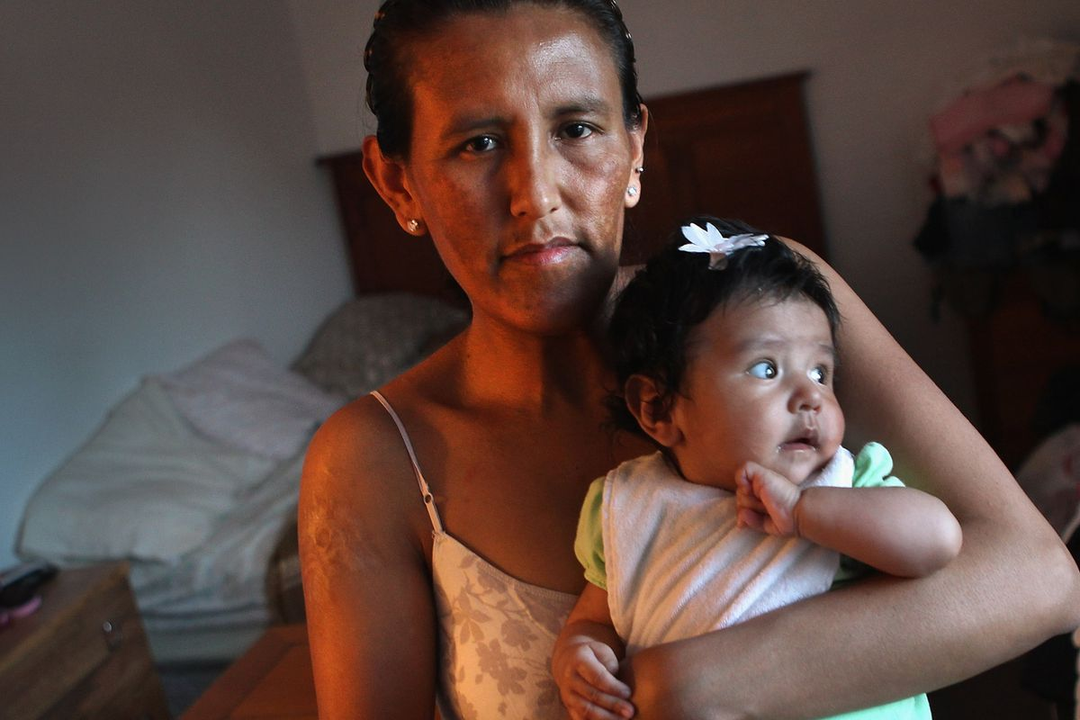 Jeanette Vizguerra, an immigrant mother.