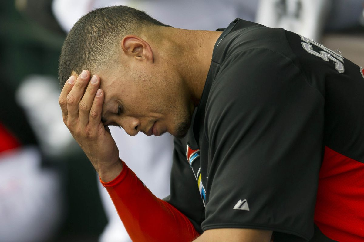 Giancarlo Stanton must be disappointed, because he is heading to the disabled list for the first time in 2013.