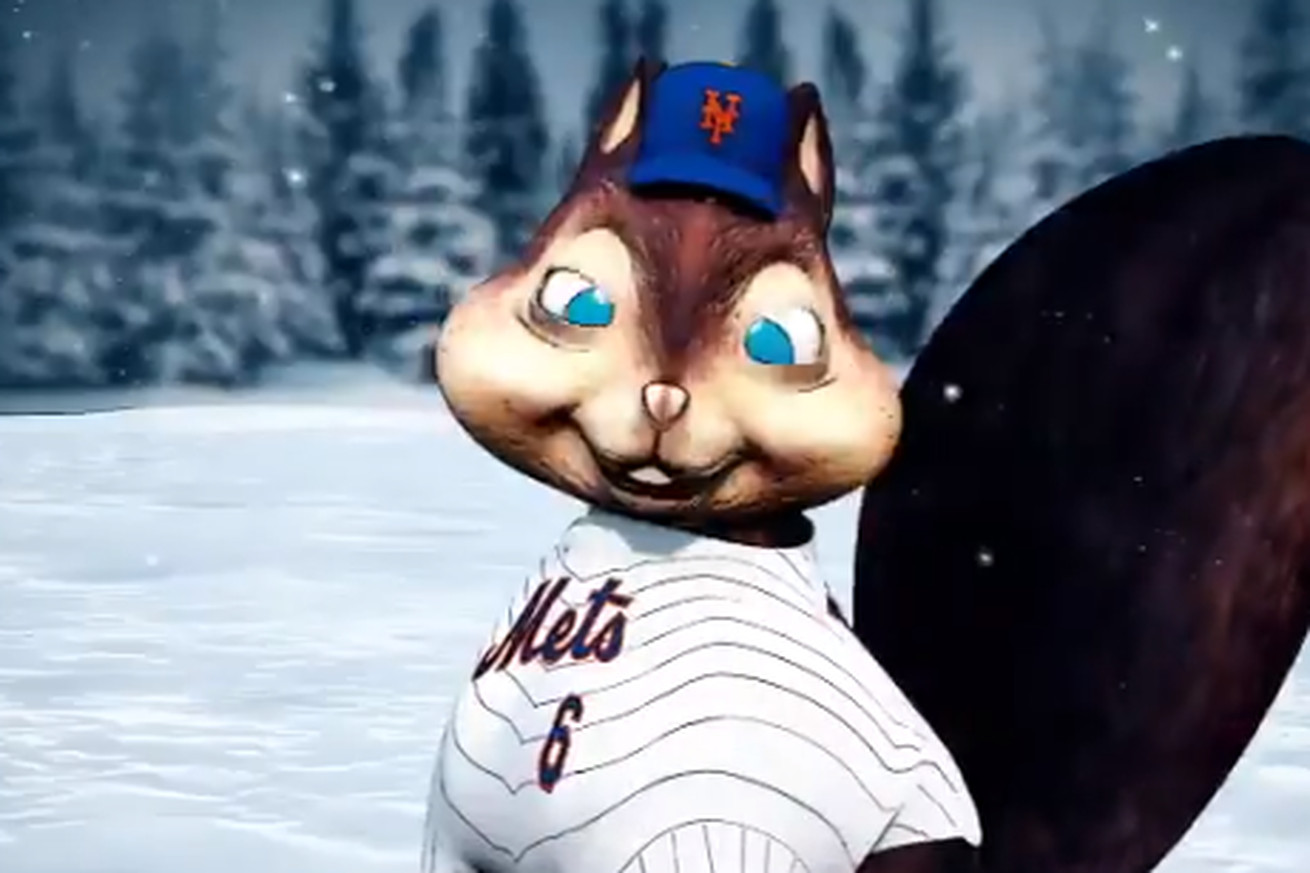 mets3.0 - What is even happening with this Mets holiday video?