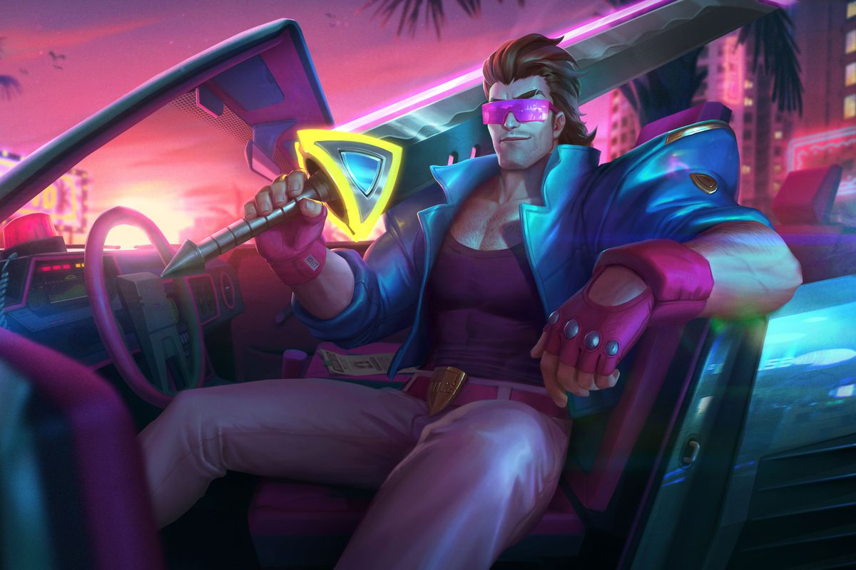 Arcade 2019 event: Demacia Vice Garen and Lucian roll through - The