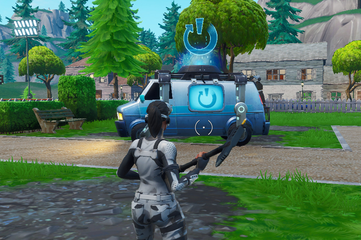 Fortnite respawning, Reboot Card, and Reboot Van map guide