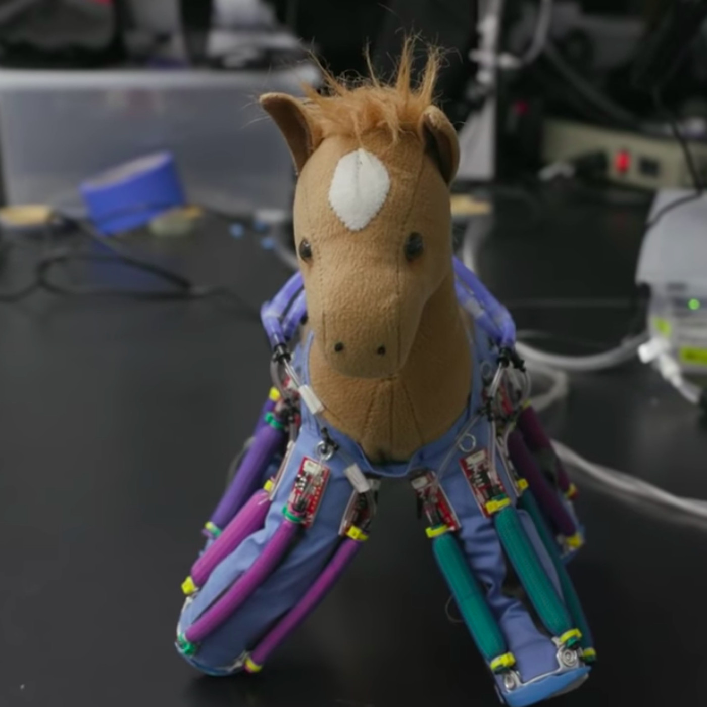 This Robotic Skin Can Bring Your Stuffed Toys To Life The Verge