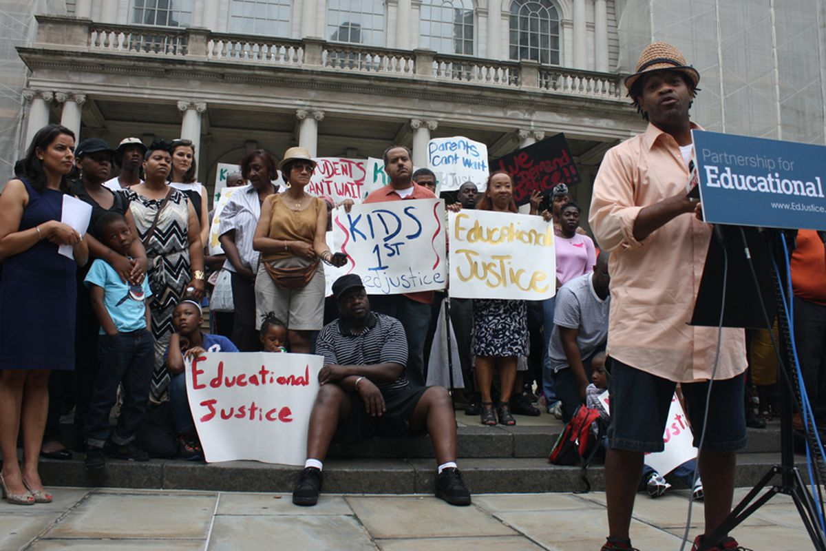 Keoni Wright, along with six other plaintiffs, are challenging state teacher tenure laws in a complaint filed June 28, 2014.