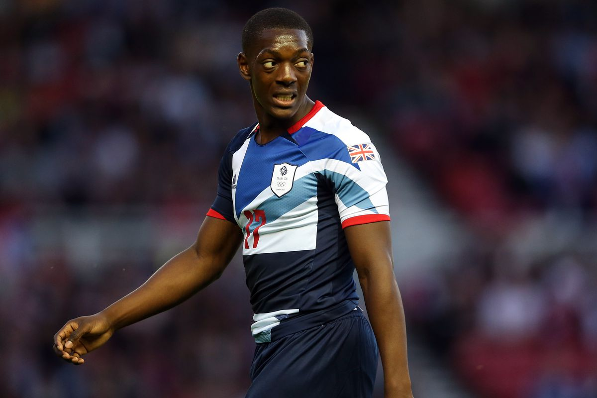 MIDDLESBROUGH, ENGLAND - JULY 20:  Marvin Sordell of GB looks on during the international friendly match between Team GB and Brazil at Riverside Stadium on July 20, 2012 in Middlesbrough, England.  (Photo by Julian Finney/Getty Images)