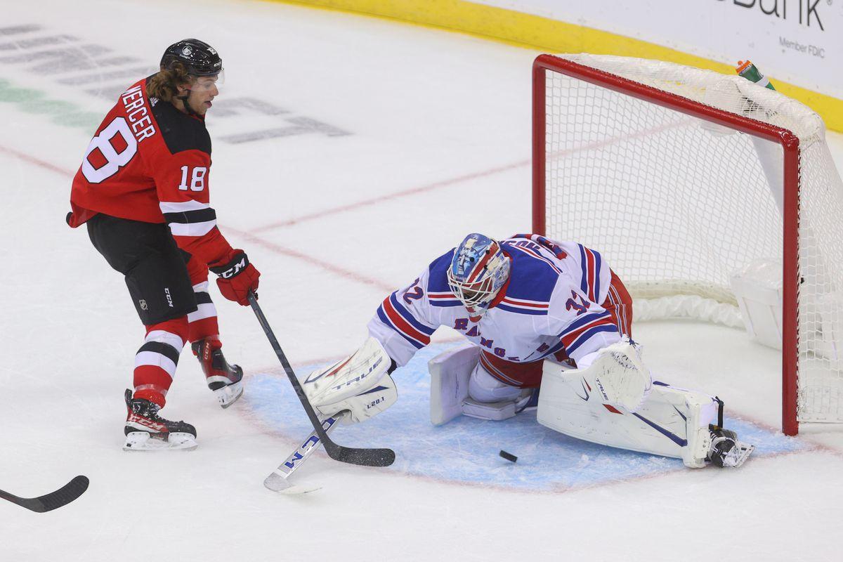 NHL: Preseason-New York Rangers at New Jersey Devils