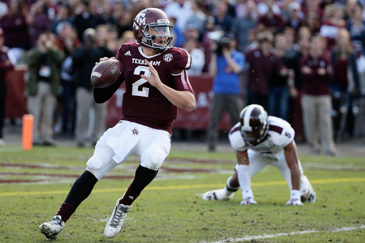 c1765c2f0 Johnny Manziel says he  didn t really know the Xs and Os  coming out of Texas  A M