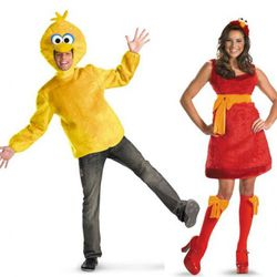 """Ricky's calls this one """"Big Bird and Sassy Elmo,"""" blatantly ignoring the fact that the Sesame Street version of Elmo is (a) a dude and (b) sassy in an entirely different way than those stockings insinuate."""