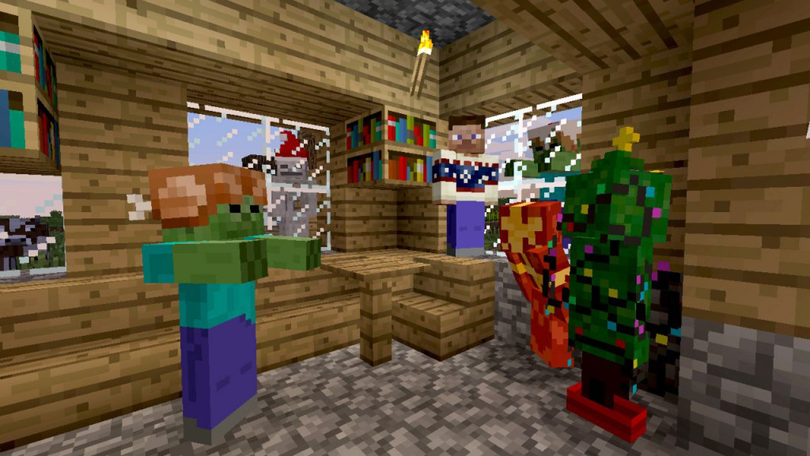 Minecraft Xbox 360 update includes breeding and enchanting ...