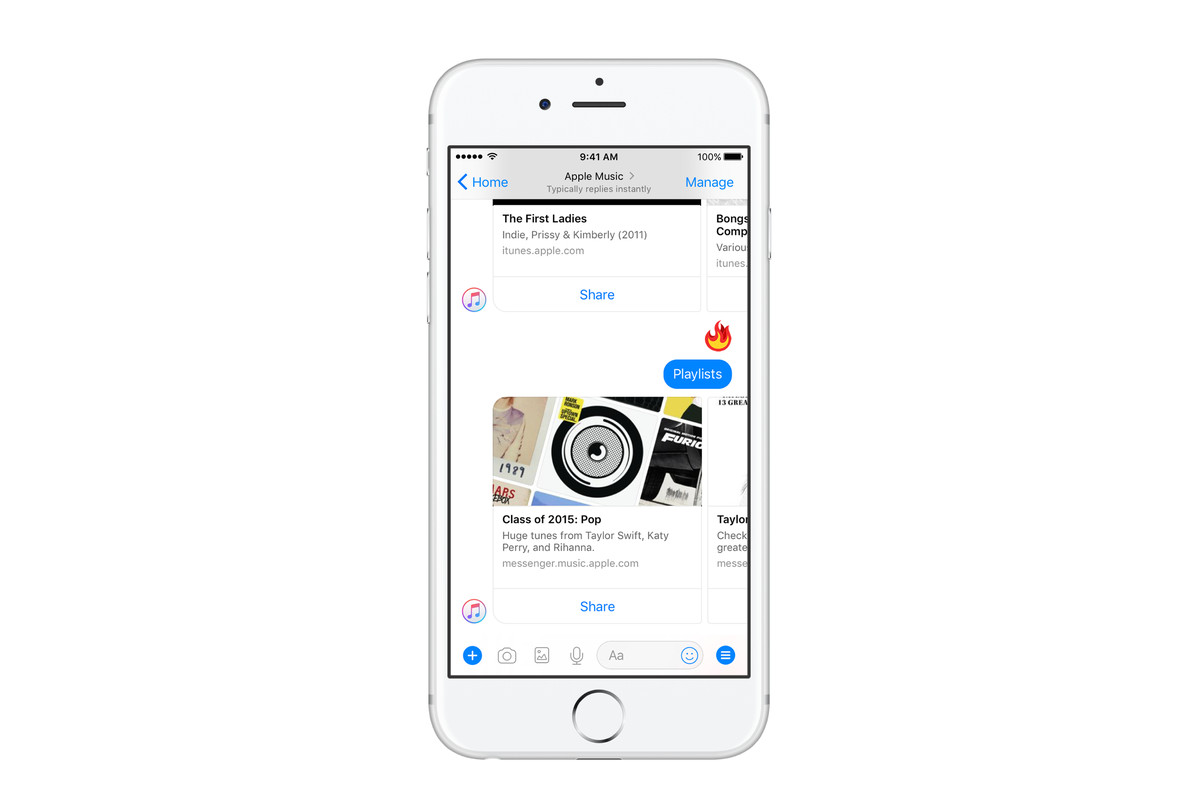 Apple Music Comes To Facebook Messenger